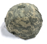 US Army ACU Digital Camouflage Standard Ballistic PASGT Helmet w/ Liner and Chinstrap