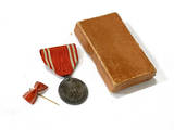 Original WWII Japanese Red Cross Medal in Box