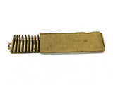 Rare WWII Japanese Type 92 7.7 Hotchkiss Ammunition Feed Strip & Sleeve