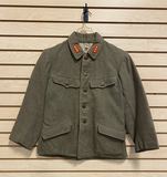 Original Imperial Japanese Army Superior Private Type 98 WWII Winter Wool Jacket w/ Stamps