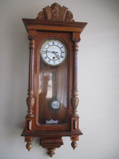 Antique Vienna Regulator Wall Clock