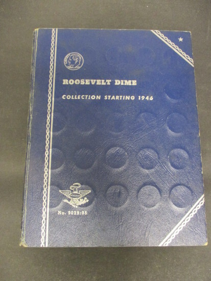 Lot of 75 RooseveltDimes in Book