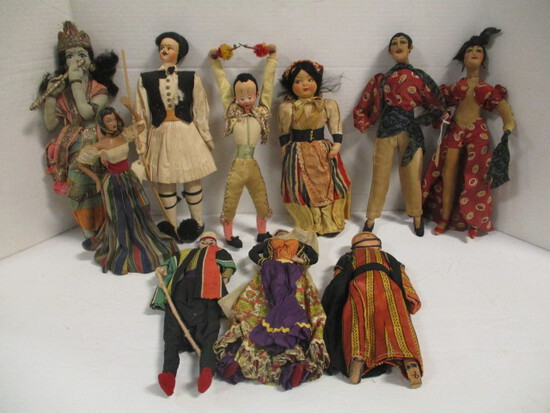 Antique Dolls from Around the World