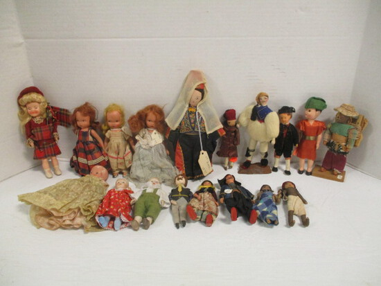 Story Book Dolls and Other Small Dolls