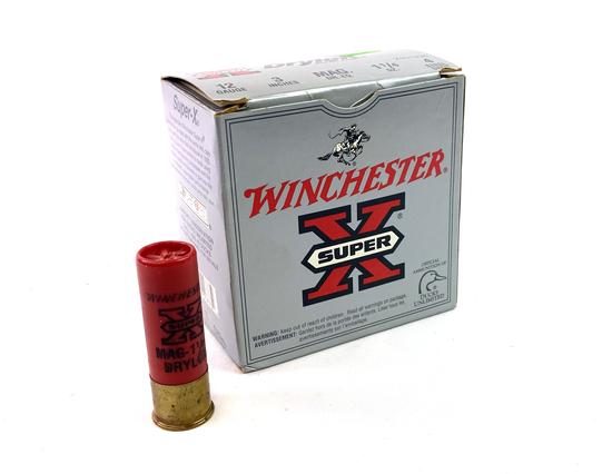 "NIB 25rds. 12 GA. Winchester Super X Drylok Super Steel 3"" Shotgun Ammunition"