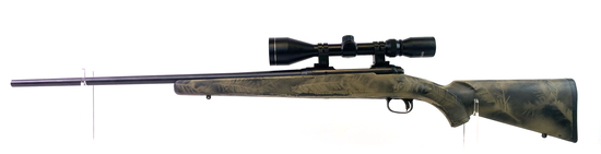 Excellent Savage Model 11 .204 Ruger Cal. Bolt Action Hunting Rifle with Tasco Scope