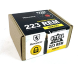 NIB 100rds. Monarch .223 REM. 55gr. FMJ Steel Case Ammunition