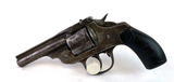 Iver Johnson .38 Cal. Top Break Revolver