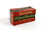 50rds. Remington Hi-Speed Kleanbore .22 LR Ammunition