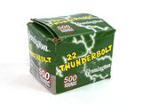 NIB 500rds. Remington 22 Thunderbolt .22 LR Ammunition