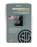 New Sig Sauer Romeo Zero 1x24MM 6 MOA Micro Open Reflex Sight MSRP $219.99