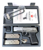 NIB Ruger P90 .45 ACP Semi-Automatic Pistol with 2 Magazines