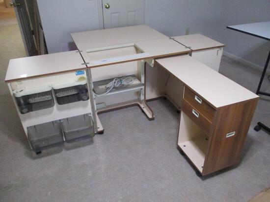 Koala Cabinets Portable Australian Sewing Station