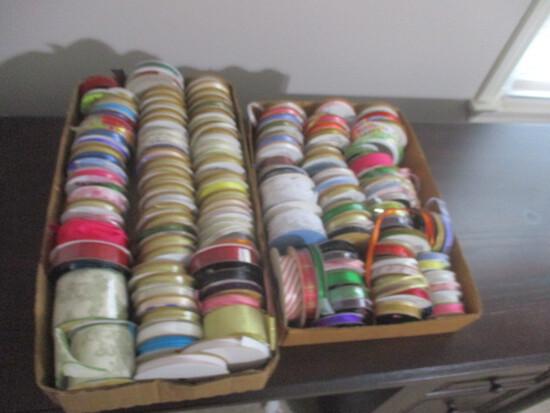 Tremendous Lot of Decorative Ribbon and Trims