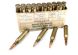 20 Rounds of 243 WIN. Custom Reloaded Ammunition with Labels