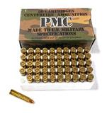 NIB 50rds. of 30 Carbine PMC 30A 110gr. FMJ Brass Ammunition