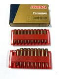 NIB 18rds. 6mm Rem. - Federal Premium 100gr. Nosler Partition Ammunition