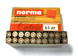 NIB 20rds. of 6.5 JAP. - Norma 139gr. SP Semi Pointed Boat Tail Ammunition