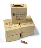 250rds. of 7.63x25mm Mauser Military Surplus Ammunition