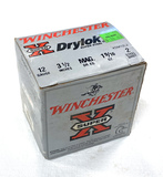 NIB 25 Shotshells of 12 GA. Winchester Super-X Drylok Super Steel 3.5