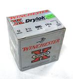 NIB 22 Shotshells of 12 GA. Winchester Super-X Drylok Super Steel 3.5