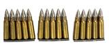 15rds. of Czech VZ-52 7.62x45mm