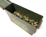 600rds. of Reloaded .38 Special Ammunition in Ammo Box