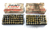 100rds. of .38 Super +P PMC Brass Ammunition