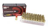 NIB 50rds. 9mm 124gr. Federal Brass Ammunition