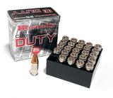 NIB 25rds. 9mm 135gr. FlexLock Hornady Critical Duty Personal Defense Ammunition