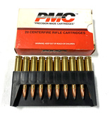 NIB 20rds. 243 WIN. PMC 100gr. PSP Ammunition