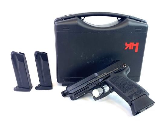 NIB Rare H&K USP 45 CT Semi-Automatic .45 ACP Pistol w/ Elephant Foot Magazine & Threaded Barrel