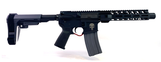 "New ""Punisher"" Anderson Manf. Inc. 300 AAC Blackout Semi-Automatic AR 10.5"" Pistol w/ Pistol Brace"