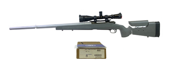 Custom US Government FBI FNA3G SPR Benchmade 7mm-08 REM Sniper with Leupold Scope