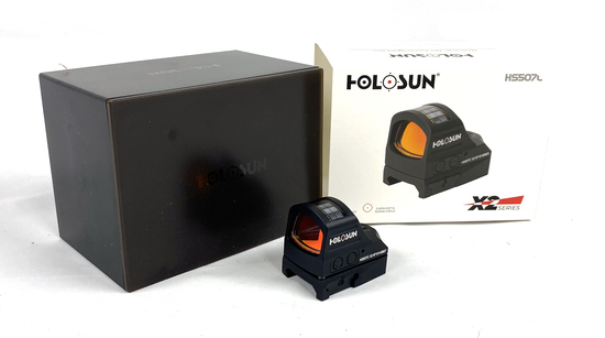 New Holosun HS507C X2 Series Open Reflex Sight MSRP $364.69