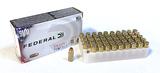 NIB 50rds. of Federal 9mm Luger 115gr. VHP Train + Protect Brass Ammunition