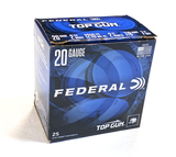 NIB 25 Shotshells of Federal Top Gun 20 GA. 2-3/4