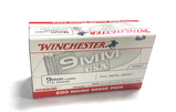 NIB 200rds. of Winchester 9mm Luger 115gr. FMJ Brass Ammunition