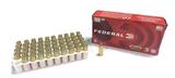 NIB 50rds. of Federal 9mm Luger 115gr. FMJ Brass Ammunition