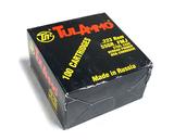 NIB 100rds. of TulAmmo .223 REM. 55gr. FMJ Steel Case Ammunition