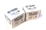 NIB 40rds. of Red Army 7.62x39mm 122gr. FMJ Steel Case Non-Corrisive Ammunition