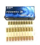 NIB 20rds. of Federal Power Shok .30-30 WIN. 150gr. Jacketed SP Brass Ammunition