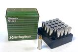 NIB 25rds. of Remington Golden Saber .357 Magnum 125gr. JHP Personal Defense Ammo