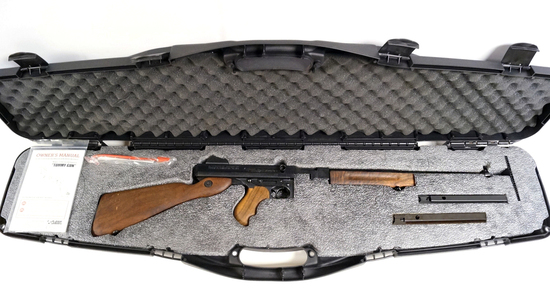"Auto Ordnance Thompson ""Tommy Gun"" M1 Semi-Automatic Carbine in Hard Case"