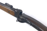 One-of-a-kind! Antique Swedish/US Swivel Breech Match Hunting Rifle with Concealed Bayonet