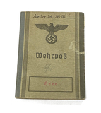 WWII German Nazi Heer (Army) Identification Book