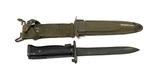 US M5A1 Milpar Col. Bayonet with M8A1 Scabbard for M1 Garand
