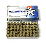 NIB 50rds. of Independence .45 AUTO 230gr. FMJ Brass Ammunition