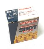 NIB 25rds. Federal 20 GA. 2-3/4