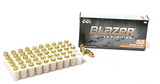 NIB 50rds. of .380 AUTO Blazer Brass 95gr. FMJ Ammunition